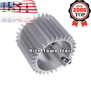 Aluminum Engine Oil Filter Cooler Heat Sink Cover Cap Billet Kit For Ef Eg Us