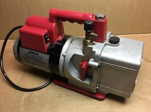 Robinair Vacumaster 15400 High Performance Ac Vacuum Pump 4 Cfm 1 3 Hp