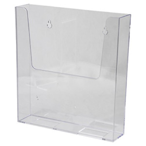 Clear ad Lhw m161 Clear Acrylic Adhesive Or Wall Mount Brochure Holder