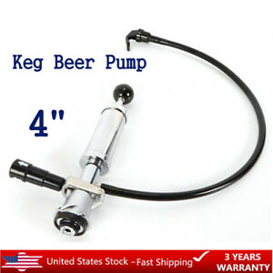 Heavy Duty Beer Party Hand Pump Keg Tap Lever Coupler D System 4 Picnic Pum