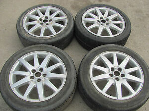 Jaguar S type Set Of 4 17 Wheels Rims Tires 2000 2001 2002 2003 2004 2005 2006