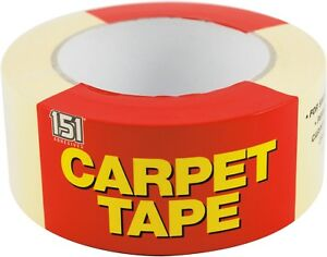 Carpet Tape Double Sided Multi purpose Strong Adhesive Tape Heavy Duty 48 X 25m