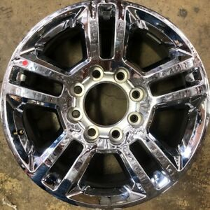 20 In 2013 19 Chevy Silverado Gmc Sierra 2500 3500 Chrome Oem Wheel Rim 5705 D