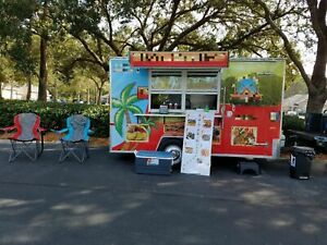 2015 6 X 12 Food Concession Trailer For Sale In Florida
