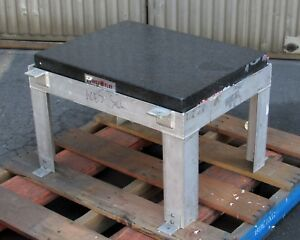 Collins Microflat Granite Surface Plate Block 24 X 18 X 4 1 4