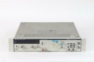 Hp 5328a 500mhz Universal Frequency Counter With Option 010 020 040