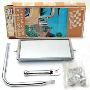 Classic West Coast Mirror And Bracket For Trucks Suvs New In Box