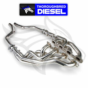 Flowtech Long Tube Hemi Headers Off road Pipes Polished Stainless 13132flt