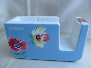 Vintage Cath Kidston Sticky Tape Scotch Washi Sellotape Dispenser Craft Used