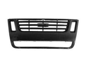 For 2007 2008 2009 2010 Ford Explorer Front Grille Xlt With Ironman Pkg Black