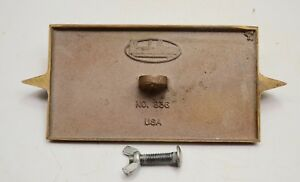 Marshalltown No 836 Bronze Double End Concrete Groover C3 Usa
