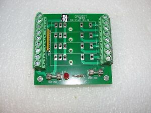 Crouzet Pb 4c4 Solid State Relay Board New