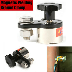 Mwgc1 200 200a Magnetic Welding Ground Clamp Holder 30kg Force Small M6h2