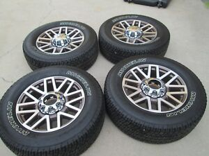 20 Ford F250 F350 Factory Wheels Rims Tires King Ranch