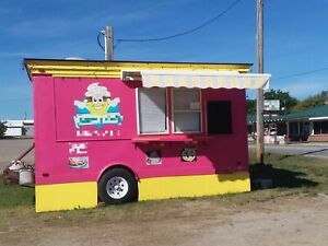 Multi functional 2003 8 5 X 18 Food Concession Trailer Mobile Food Unit Fo