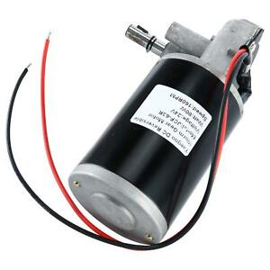 24v 80w Reversible Electric Gear Motor High Torque 160rpm Durable