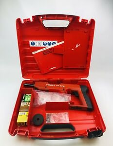 Hilti Dx E72 Powder Actuated Nailer Nail Gun used
