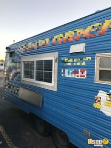 Vintage 1973 8 X 26 4 Food Concession Trailer For Sale In Oklahoma