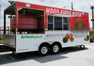 2017 8 6 X 20 Wood Fired Pizza Concession Trailer For Sale In Missouri
