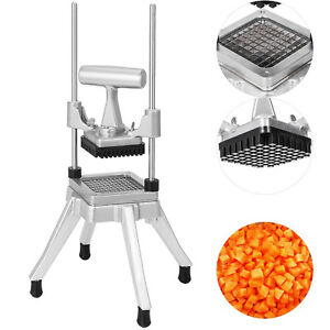 3 8 Commercial Vegetable Fruit Dicer Stainless Steel Food Cutter Tomato Slicer