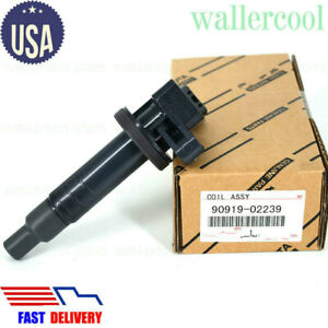 Genuine 90919 02239 Ignition Coil For Toyota Corolla Celica Chevy 1 8l Uf247 Us