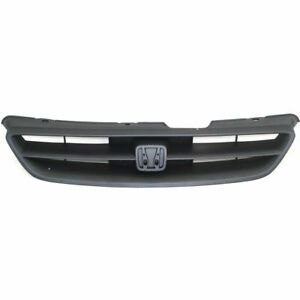 For 1998 1999 2000 2001 2002 Honda Accord Coupe Front Grille Gray