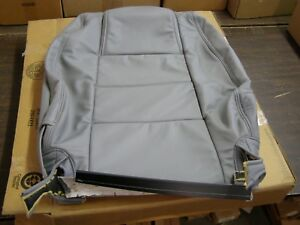 Nos Oem Ford 2005 2006 2007 Mustang Convertible Grey Leather Seat Cover Rh Front