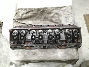 Gm Sbc Pair Cast Iron Cylinder Heads
