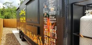 8 5 X 28 Bbq Food Concession Trailer Mobile Kitchen For Sale In Texas