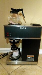 New Bunn Commercial Coffee Maker Vpr Series Stainless Steel 33200 0015 Made Usa