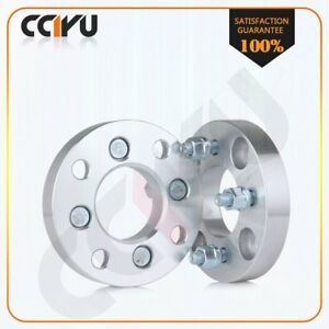 2 4x4 5 To 4x100 Wheel Spacers 1 Adapter 12x1 5 For 1986 1990 Acura Legend