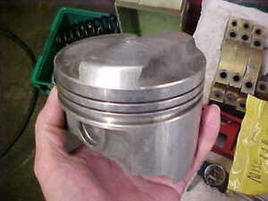 New Bbc 427 030 4 280 Bore Closed Chamber Dome Trw Manley Piston Forged L2239n