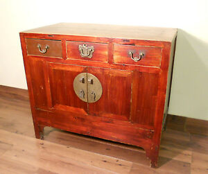 Antique Chinese Ming Cabinet Sideboard 5652 Circa 1800 1849