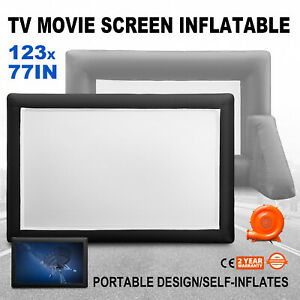 Inflatable Mega Movie Screen Canvas Projection Screen For Outdoor Parties 12 us