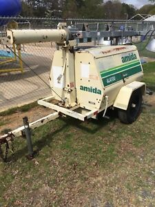 Amida terex Al4000 Low Hours 2400 Hrs Kubota Light Tower 4kw Generator