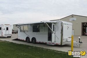 2016 8 5 X 24 Food Concession Trailer With Porch For Sale In Iowa