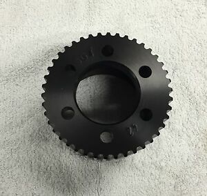 New 8 Mm Gt 42 Tooth Blower Supercharger Pulley Snout Hemi Gasser Chevy 671 471