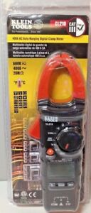 Klein Tools Cl210 Ac Auto ranging 400 Amp Digital Clamp Meter New Free Shipping