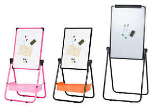 Magnetic Whiteboard Kids Easel Flipchart Dry Erase Marker Board Office School