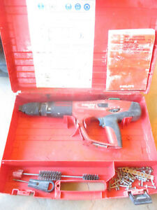 Hilti Dx 460 Powder Actuated Fastener Tool Nail Gun With Case Manual Etc