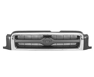 For 1999 2000 2001 Nissan Pathfinder Ft Front Grille Le Model Chrome