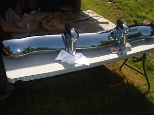1948 1949 Cadillac Front Bumper And Guards