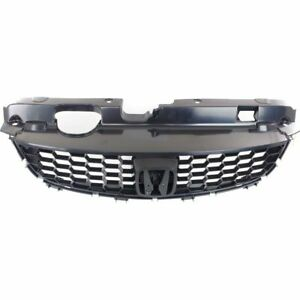 For 2004 2005 Honda Civic Coupe Front Grille With Lower Molding Black