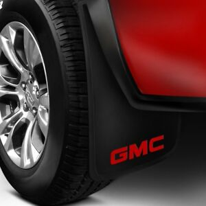 4 11 X 19 Mud Flaps Gmc Logo Sierra Truck Splash Guards Front