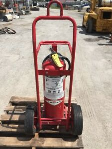 Amerex 495 Fire Extinguisher On Wheels 50 Lbs