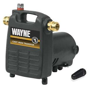 Wayne Pc4 1 2 Hp Cast Iron Multi purpose Pump With Suction Strainer