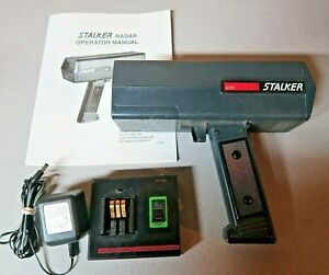 Stalker Atr Applied Concepts Handheld Radar Gun With Charger