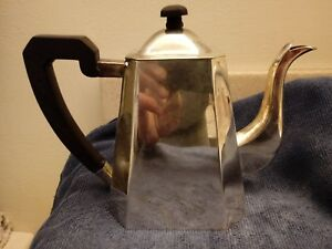 Vintage Sterling Silver Teapot 540grams Beautiful Deco Look