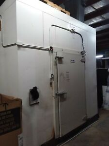Walk In Freezer 10 X 14 With Compressor Door Replaced Recently Bally Copeland