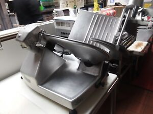 Hobart 2812 120v Manual Meat Slicer 1 2 Hp Used Great Condition 2008 Model